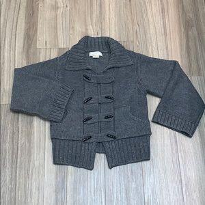 Chunk Grey Knit Sweater